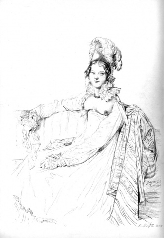 2.Madame Louis-Nicolas-Marie Destouches, nee' Armande-Edmee Charton, Restored
