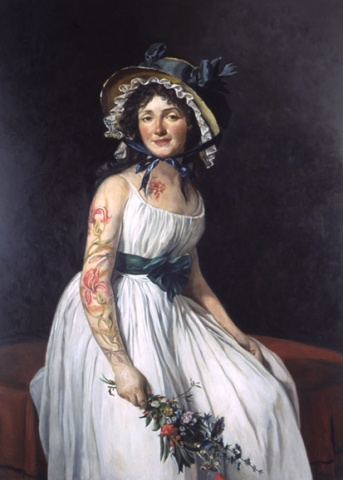 Portrait of Madame Pierre Seriziat, Restored