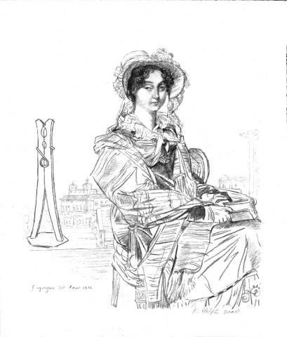 4.Mrs. Charles Badham, nee' Margaret Campbell, Restored