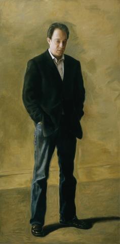 Michael Kimmelman as Thomas Kenton (The Thinker) After Eakins
