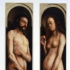 Adam & Eve, Restored (Falling Fig Leaves), Restored