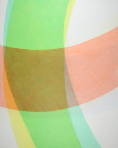 Acrylics and acrylic media on panel