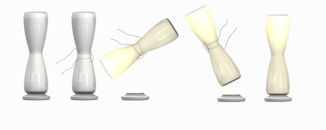 HOURGLASS LAMP: HOW IT WORKS
