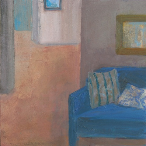 SOLD Apt4,blue chair