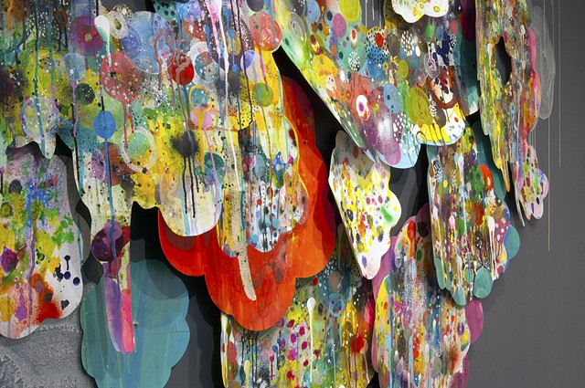 Everlasting Gobstopper (detail) At ZINC contemporary.
