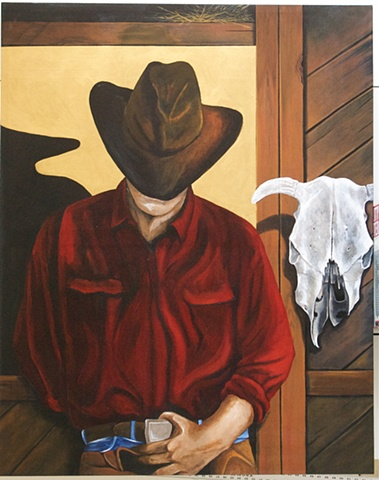 COWBOY IN RED