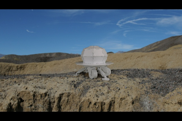 Still from The Tellurian-to-Tellurian Lander (T2 Lander)