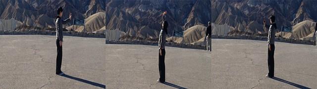 Vertical Panorama: Zabriskie Point (stills)