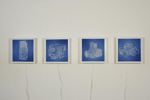 Illuminated Negative Series