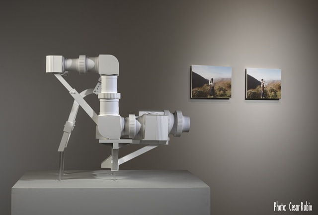 The Tellurian Projection Pack (TPP) installation view