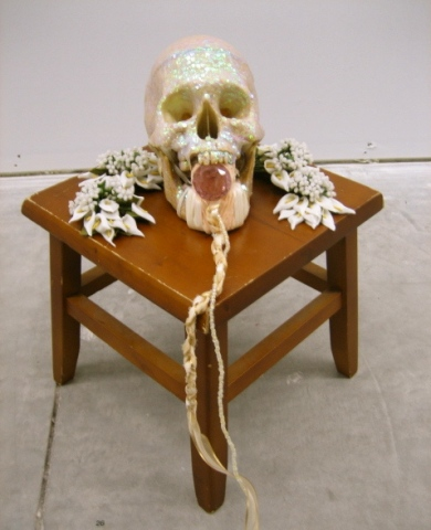 """untitled, (small effigy for sarasota)"""