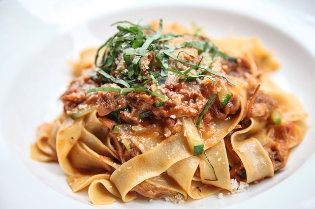 Tagliatelle with Lamb Ragu and Pecorino