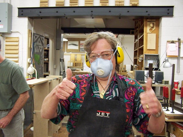 Linda Van Gehuchten Resident Artist