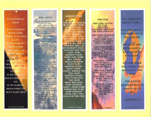 Assorted Bookmarks Set 2