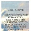Rise Above (Bookmark)