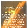 Darkest Hour (Bookmark)