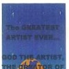 The Greatest Artist Ever (Bookmark)