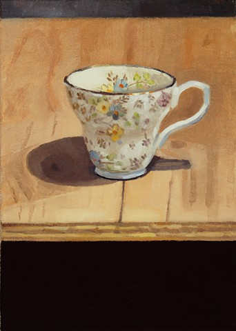 Tea Cup on Table