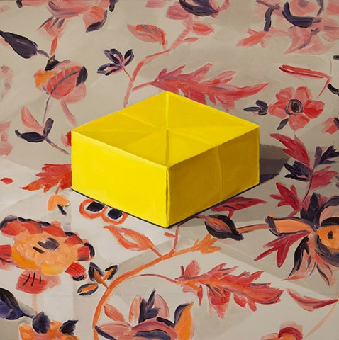 Yellow Paper Box