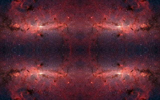Milky Way Mandala