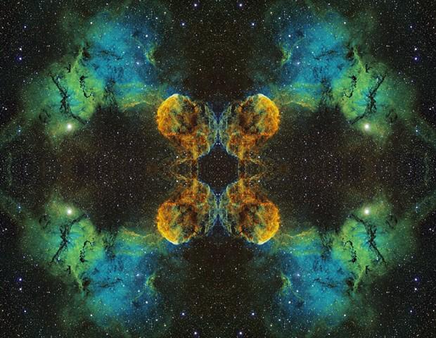 Jellyfish Nebula Mandala