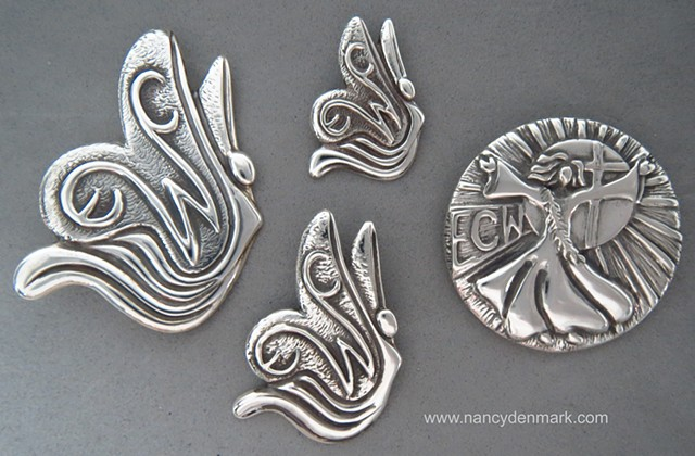 ECW jewelry designs ©Nancy Denmark for Episcopal Church Women