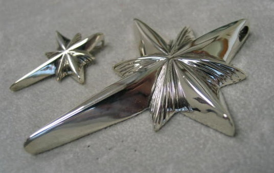 sterling silver star cross pendants © Nancy Denmark