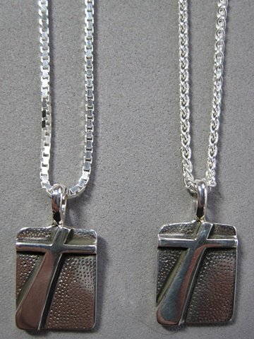 box and wheat style sterling chains for small pendants