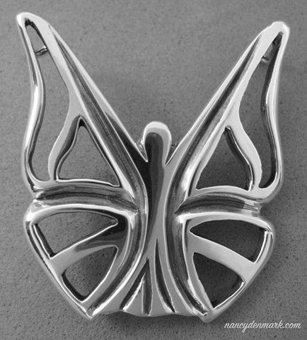 Be Ye Transformed symbolic butterfly jewelry design ©Nancy Denmark