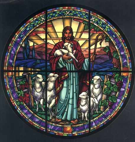 WINDOW AT GOOD SHEPHERD, DALLAS
