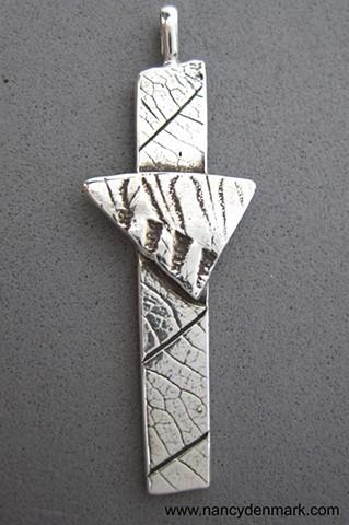 silver impressions of nature cross ©Nancy Denmark