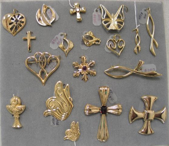 SYMBOL DESIGNS IN GOLD