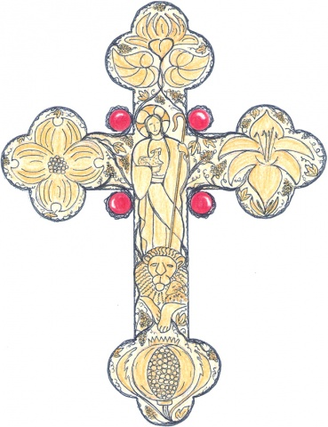 DOYLE PECTORAL CROSS DESIGN