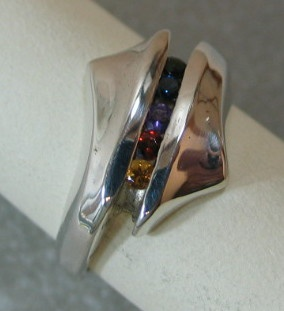 Rainbow ring view 2