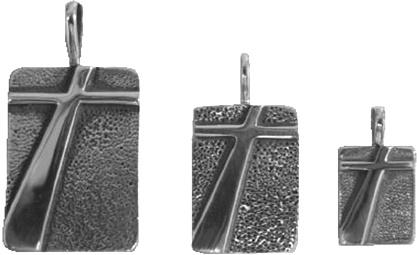 sterling silver cross pendants © Nancy Denmark