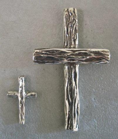 sterling silver tree crosses © Nancy Denmark