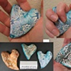 HAND HELD CROSSES & HEARTS