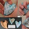 HAND HELD CROSSES & HEARTS