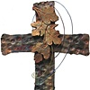 CROSS ENTWINED IN GRAPE LEAVES (SOLD)