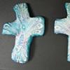 3 PEACOCK HAND CROSSES 15, 16, 17