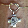 COMMUNITY OF HOPE CHARM ON LOVE KNOT BRACELET
