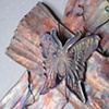 BUTTERFLY CLOSE UP VIEW (SOLD)