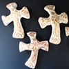2 GOOD SHEPHERD HAND HELD CROSSES