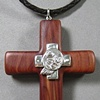 COLLABORATIVE WOOD AND STERLING PECTORAL CROSS FOR COMMUNITY OF HOPE MEMBERS