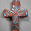 SAMPLING (SOLD) HAND CROSS IMPRESSED WITH BUTTERFLY WINGS