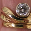 14K Ring with Diamond
