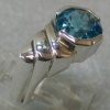 STERLING W/ BLUE TOPAZ VIEW 3