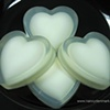 HEART SHAPE ORANGE CINNAMON SOAP