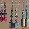 VARIETY OF BEADED EARRINGS