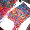 ART SCARF KNITTING PROCESS